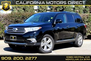 2013 Toyota Highlander Limited Carfax 1-Owner - No Accidents  Damage Reported to CARFAX Air Cond