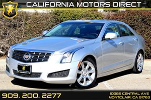 2013 Cadillac ATS Luxury Carfax 1-Owner - No Accidents  Damage Reported to CARFAX  Radiant Sil
