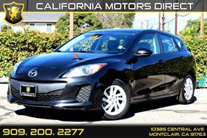 2012 Mazda Mazda3 i Grand Touring Carfax 1-Owner  Black Mica  Normal  0          false  false