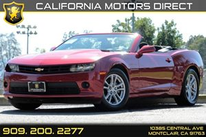 2015 Chevrolet Camaro LT Carfax 1-Owner - No Accidents  Damage Reported to CARFAX Audio  Auxili