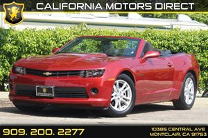 2015 Chevrolet Camaro LT Carfax 1-Owner - No Accidents  Damage Reported to CARFAX  Maroon