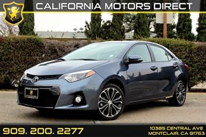 2014 Toyota Corolla L Carfax 1-Owner - No Accidents  Damage Reported to CARFAX  Slate Metallic