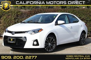 2015 Toyota Corolla L Carfax 1-Owner - No Accidents  Damage Reported to CARFAX Air Conditioning