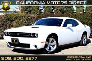 2015 Dodge Challenger SXT Carfax 1-Owner - No Accidents  Damage Reported to CARFAX  Bright Whi