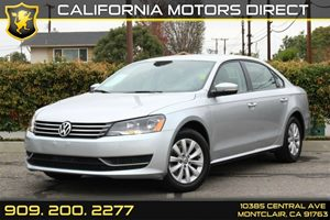 2014 Volkswagen Passat Wolfsburg Ed Carfax Report 5 Person Seating Capacity Audio  AmFm Stereo