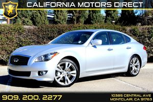 2013 Infiniti M37  Carfax 1-Owner - No Accidents  Damage Reported to CARFAX Air Conditioning  A