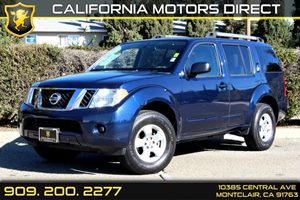 2012 Nissan Pathfinder S Carfax 1-Owner - No Accidents  Damage Reported to CARFAX Air Conditioni