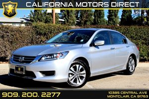 2013 Honda Accord Sdn LX Carfax 1-Owner Air Conditioning  AC Air Conditioning  Climate Contro