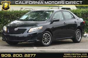 2009 Toyota Corolla  Carfax Report - No Accidents  Damage Reported to CARFAX  Black Sand Pearl