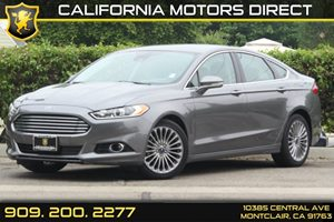 2013 Ford Fusion Titanium Carfax Report - No Accidents  Damage Reported to CARFAX Aluminum Sport