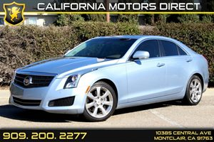 2013 Cadillac ATS Luxury Carfax 1-Owner  Glacier Blue Metallic 28090 Per Month - On Approved
