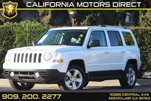2014 Jeep Patriot Limited Carfax 1-Owner  Bright White Clearcoat