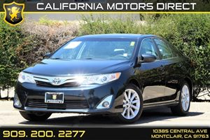 2012 Toyota Camry XLE Carfax 1-Owner Adjustable Front  Rear Headrests Air Conditioning  AC A