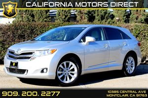 2013 Toyota Venza LE Carfax 1-Owner  Classic Silver Metallic 24842 Per Month - On Approved C