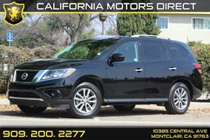 2014 Nissan Pathfinder SV Carfax 1-Owner - No Accidents  Damage Reported to CARFAX  Super Blac