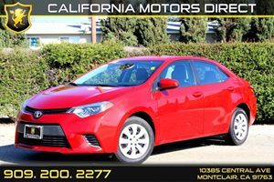 2014 Toyota Corolla LE Carfax 1-Owner - No Accidents  Damage Reported to CARFAX Air Conditioning