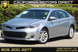 2015 Toyota Avalon XLE Carfax 1-Owner  Celestial Silver Metallic  Department of Motor Vehicle