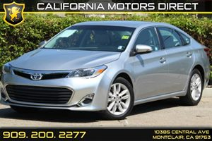 2015 Toyota Avalon XLE Carfax 1-Owner Air Conditioning  AC Audio  AmFm Stereo Audio  Auxil