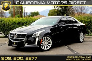 2014 Cadillac CTS Sedan Luxury RWD Carfax 1-Owner Air Conditioning  AC Air Conditioning  Clim