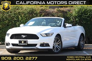 2015 Ford Mustang EcoBoost Premium Carfax 1-Owner - No Accidents  Damage Reported to CARFAX Audi