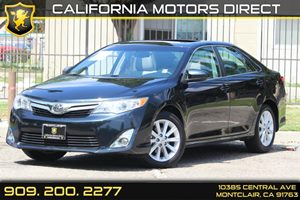 2013 Toyota Camry XLE Carfax 1-Owner 25L Dohc Vvt-I 16-Valve I4 Engine Convenience  Leather St