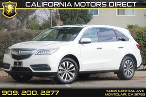2015 Acura MDX TechEntertainment Pkg Carfax 1-Owner Audio  Entertainment System Audio  Hard D