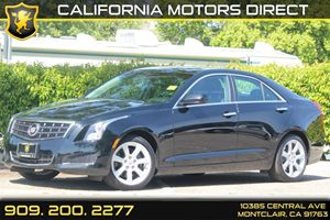 2013 Cadillac ATS  Carfax 1-Owner  Black Diamond Tricoat 26791 Per Month - On Approved Credi
