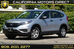 2015 Honda CR-V LX Carfax 1-Owner Air Conditioning  AC Audio  AmFm Stereo Audio  Auxiliary