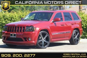 2006 Jeep Grand Cherokee SRT-8 Carfax Report 6040 Folding Rear Seat 8 Cylinders Displacement