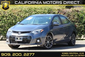 2014 Toyota Corolla S Carfax 1-Owner - No Accidents  Damage Reported to CARFAX 5 Person Seating