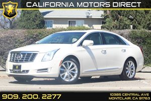 2014 Cadillac XTS Luxury Carfax Report  White Diamond Tricoat 3702 Per Month - On Approved C