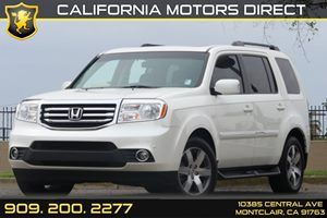 2014 Honda Pilot Touring Carfax 1-Owner 21 Gal Fuel Tank 4-Wheel Disc Brakes W4-Wheel Abs Fro