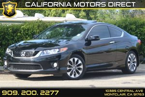 2013 Honda Accord Cpe EX Carfax 1-Owner  Crystal Black Pearl  Department of Motor Vehicle G
