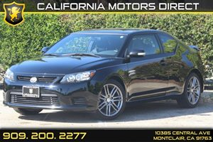 2013 Scion tC  Carfax 1-Owner  Black  Department of Motor Vehicle GDMVG License fees are