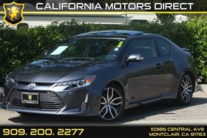 2015 Scion tC  Carfax 1-Owner 5 Person Seating Capacity Black Grille Displacement  25L Engine