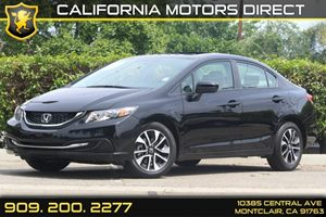 2015 Honda Civic Sedan EX Carfax 1-Owner 1 12V Dc Power Outlet 4 Cylinders Air Conditioning  A