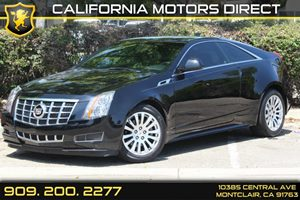 2013 Cadillac CTS Coupe  Carfax 1-Owner 6 Cylinders Air Conditioning  Climate Control Air Cond
