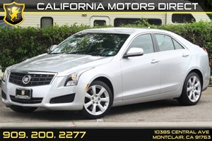 2013 Cadillac ATS  Carfax 1-Owner Climate Control Dual-Zone Automatic Convenience  Leather Ste