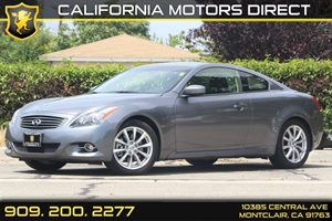 2013 Infiniti G37 Coupe Journey Carfax 1-Owner - No Accidents  Damage Reported to CARFAX 6 Cylin