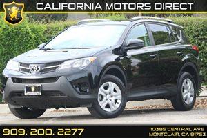 2014 Toyota RAV4 LE Carfax 1-Owner  Black  Department of Motor Vehicle GDMVG License fee