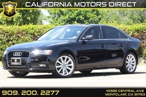 2013 Audi A4 Premium Plus Carfax 1-Owner - No Accidents  Damage Reported to CARFAX 12V Pwr Outle