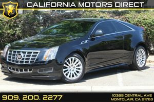 2014 Cadillac CTS Coupe  Carfax 1-Owner - No Accidents  Damage Reported to CARFAX  Black Diamo