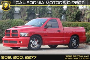 2005 Dodge Ram SRT-10  Carfax Report  Flame Red - - - - -2809 Per Month - On Approved C
