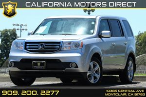 2014 Honda Pilot EX-L Carfax 1-Owner 60-40 Folding Split-Bench Front Facing Manual Reclining Fold