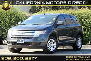 2007 Ford Edge SE Carfax 1-Owner - No Accidents  Damage Reported to CARFAX  Black Clearcoat