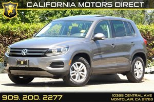 2012 Volkswagen Tiguan S wSunroof Carfax 1-Owner  Pepper Gray Metallic  Department of Motor V