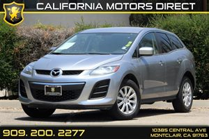 2011 Mazda CX-7 i SV Carfax 1-Owner - No Accidents  Damage Reported to CARFAX  Liquid Silver M