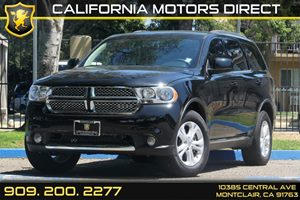 2013 Dodge Durango SXT Carfax 1-Owner Air Conditioning  AC Audio  AmFm Stereo Audio  Auxil