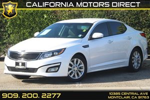 2014 Kia Optima EX Carfax 1-Owner  Snow White Pearl  Department of Motor Vehicle GDMVG L