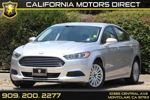 2014 Ford Fusion SE Hybrid Carfax 1-Owner 5 Person Seating Capacity 60-40 Folding Bench Front Fa
